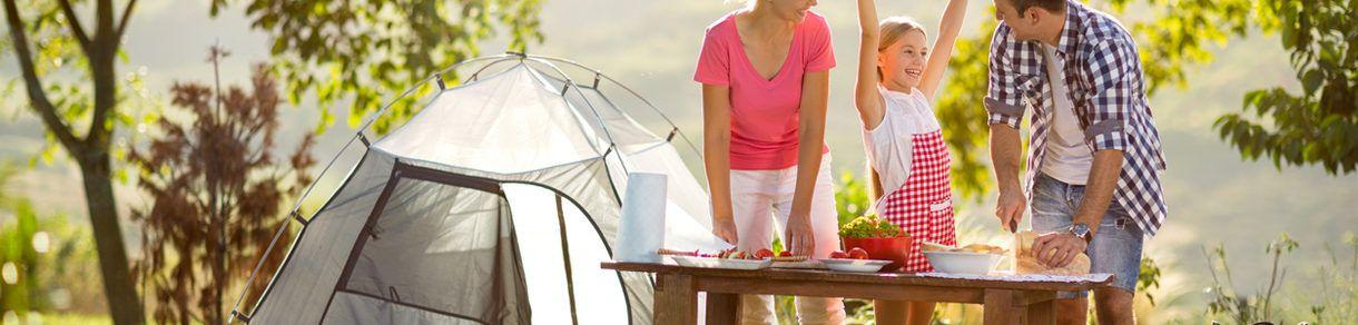 camperen op vakantie